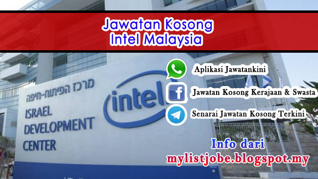Temuduga Terbuka di Intel Malaysia