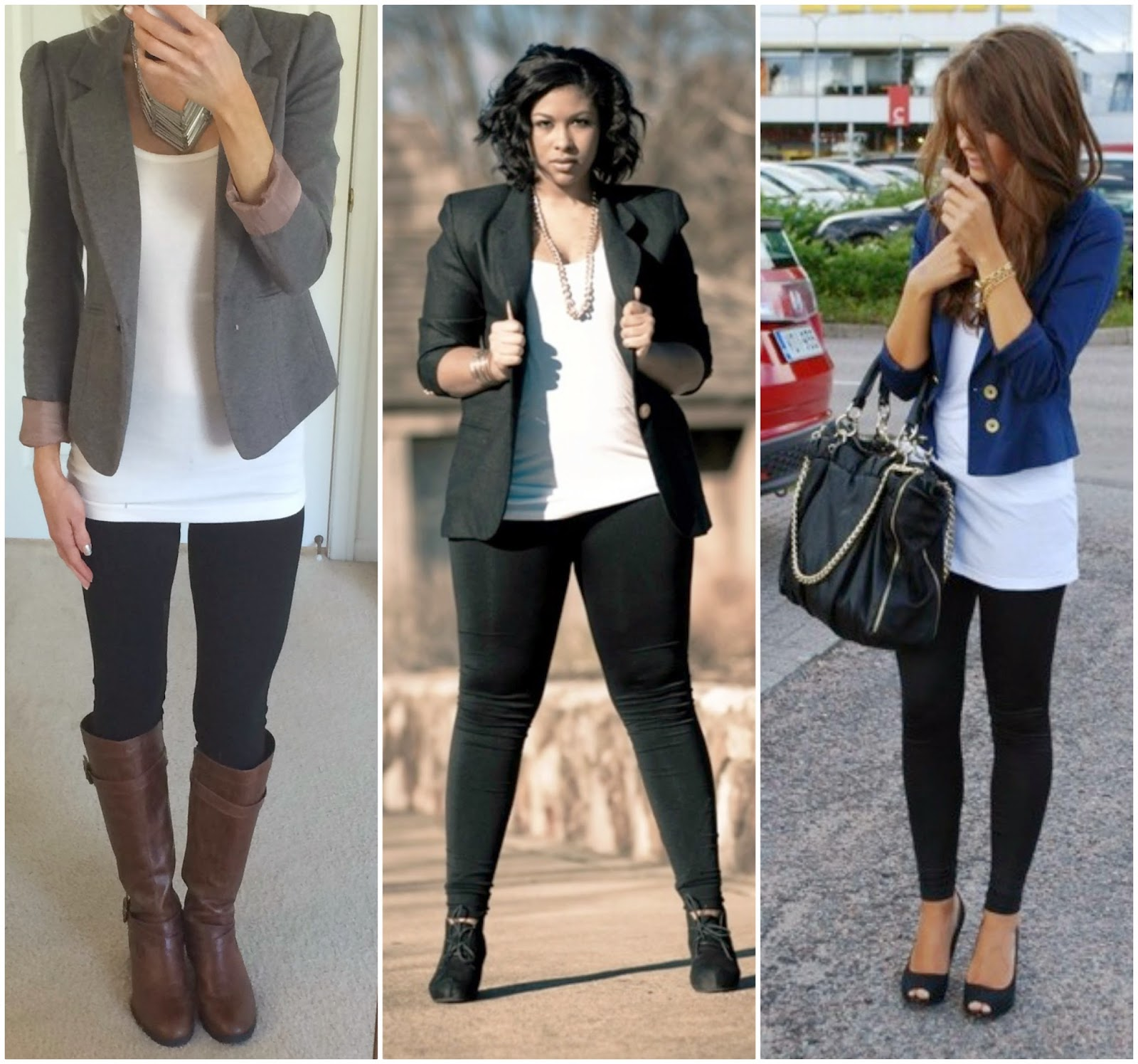 #Basic Leggings Outfits