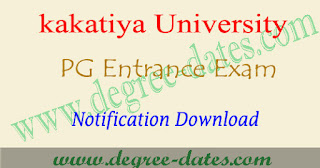 KU pg admissions 2017 notification pdf ku pgcet 2017-2018 online apply