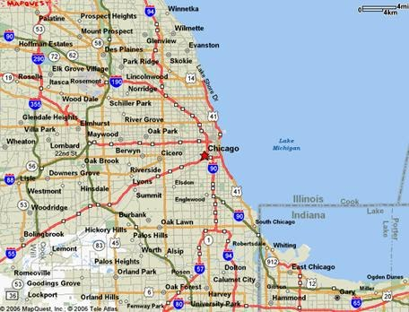 graphic regarding Printable Map of Chicago named Chicago Map - No cost Printable Maps