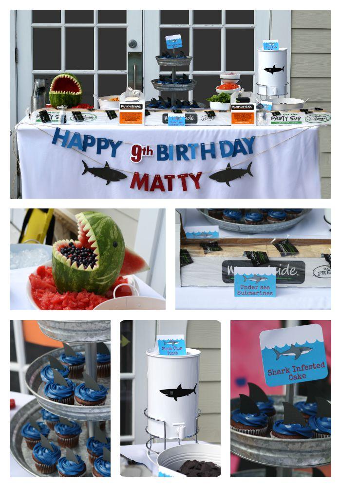 Boy Birthday Party Idea