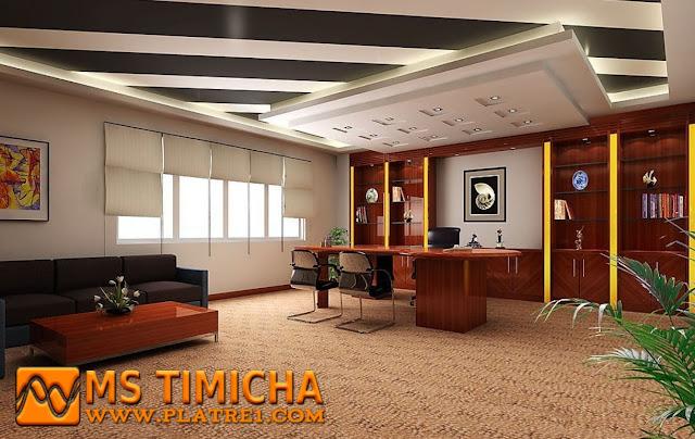 Plafonds de bureau : plafond acoustique