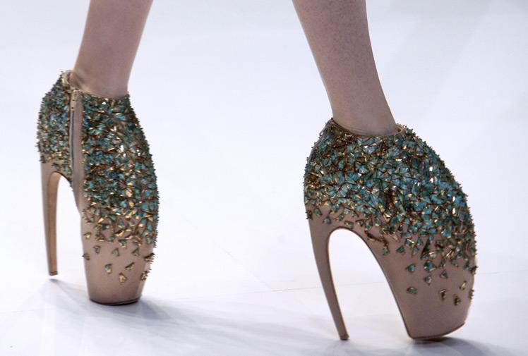 Mcqueen Shoes Lady Gaga