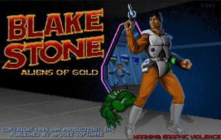 Videojuego Blake Stone Aliens of Gold
