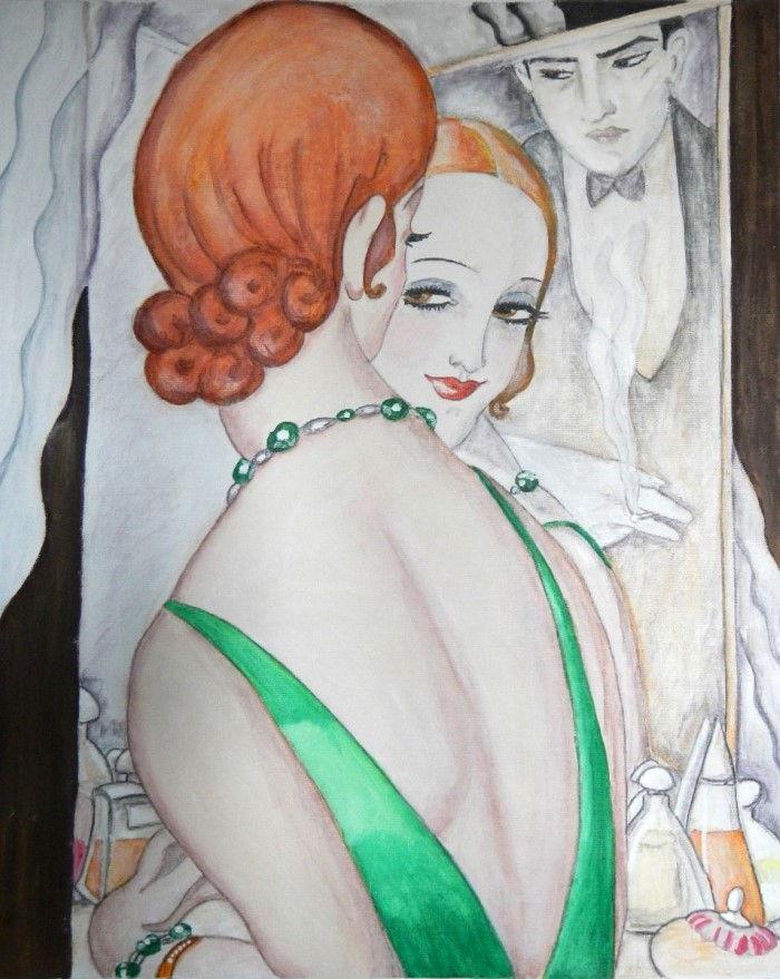 Итальянский художник-самоучка. Elizabeth Stride