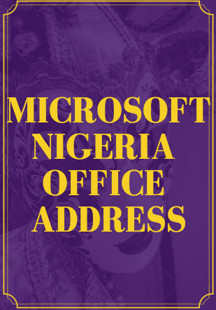 Microsoft Nigeria Office Address