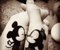 Tatuagens Mickey E Minnie Fotos E Desenhos Lilicatt