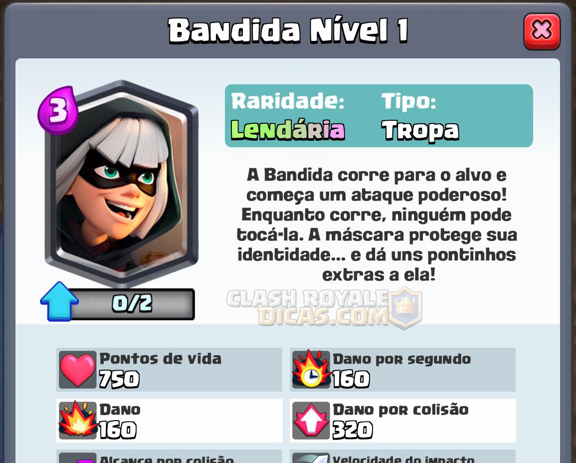 Bandida Clash Royale La Cas De Papel