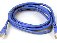 Belajar Membuat Kabel Jaringan  UTP/ LAN
