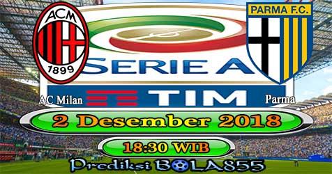 Prediksi Bola855 AC Milan vs Parma 2 Desember 2018