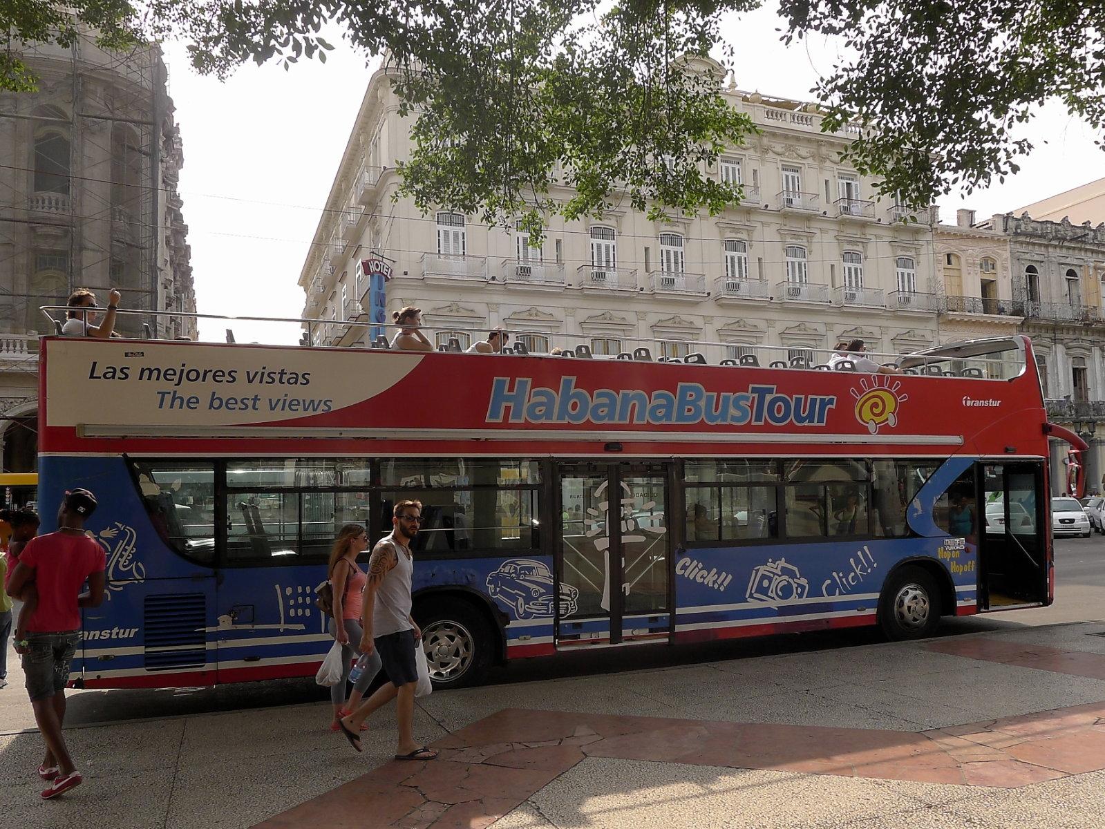 Bus am Parque Central