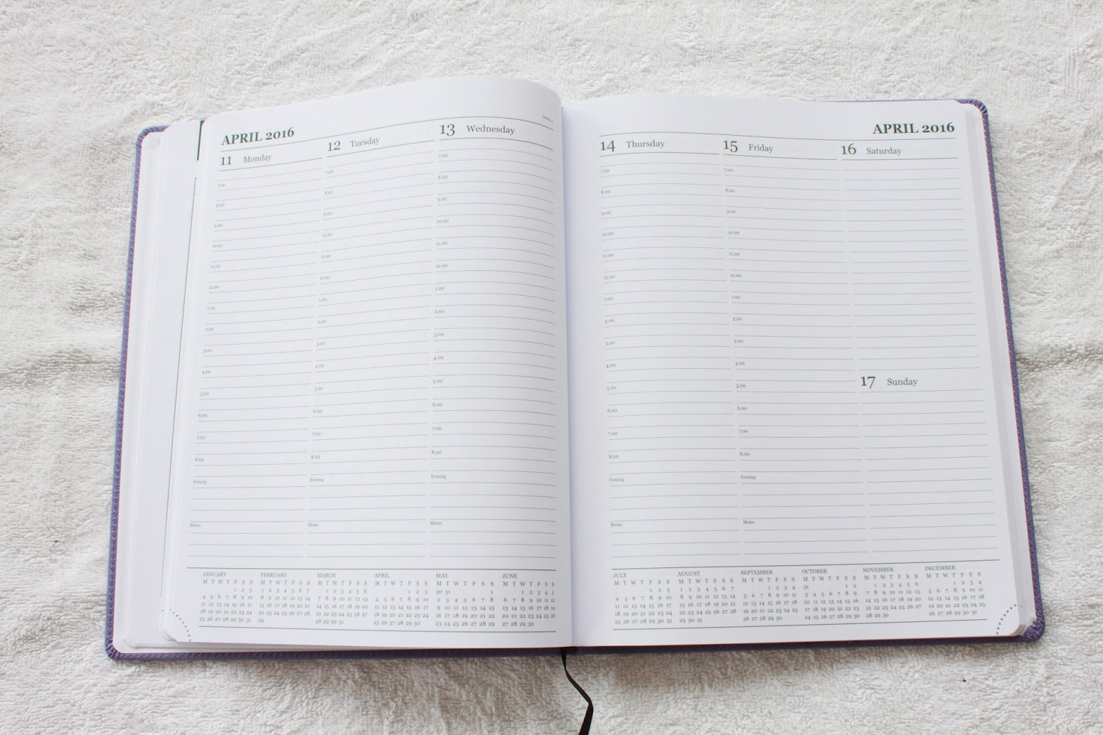 The Last Diary Company Planner Diary 2016