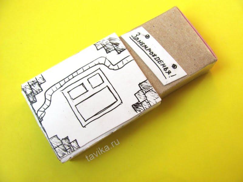 поделка из спичечного коробка