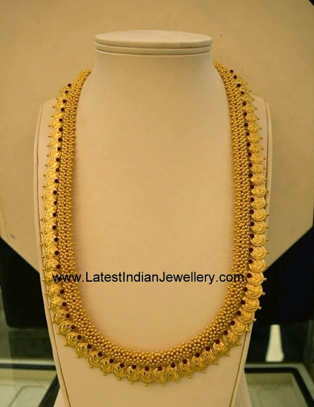 South Indian Traditional Gold Kasulaperu