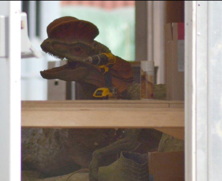 Algunos dinosaurios de Jurassic World 2 se dejan ver