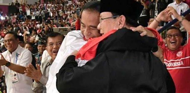 Video Pelukan Jokowi Prabowo Kembali Diputar, Ini Kata Pemerintah