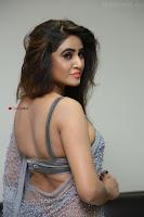 Sony Charishta in Saree Deep neck Choli ~  Exclusive 08.JPG