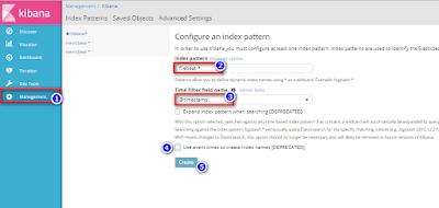 Nah  disni  kalian masukan   agent   filebeat pada  kolom  index  pattern. Silahkan  ikutin  seperti  gambar di  bawah ini.