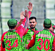 Who is Bangladesh's opponent in the tri-series final?