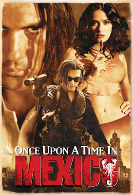 poster of Once Upon a Time in Mexico 2003 Dual Audio 720p BluRay