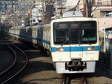小田急電鉄 快速急行 小田原行き4 8000形