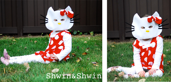 Hello Kitty Halloween Costume Shwin And Shwin