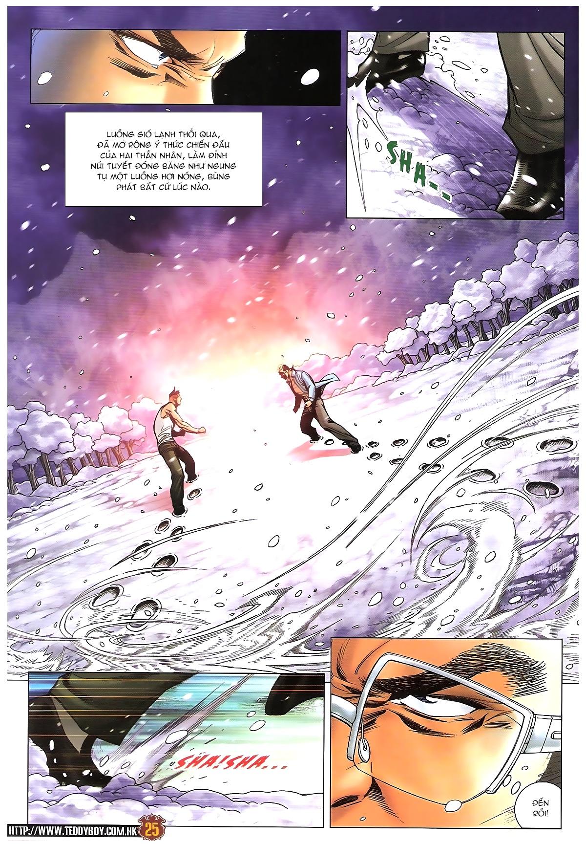 Người Trong Giang Hồ - Chapter 1613: Tuyết Địa Tranh Hùng - Pic 22