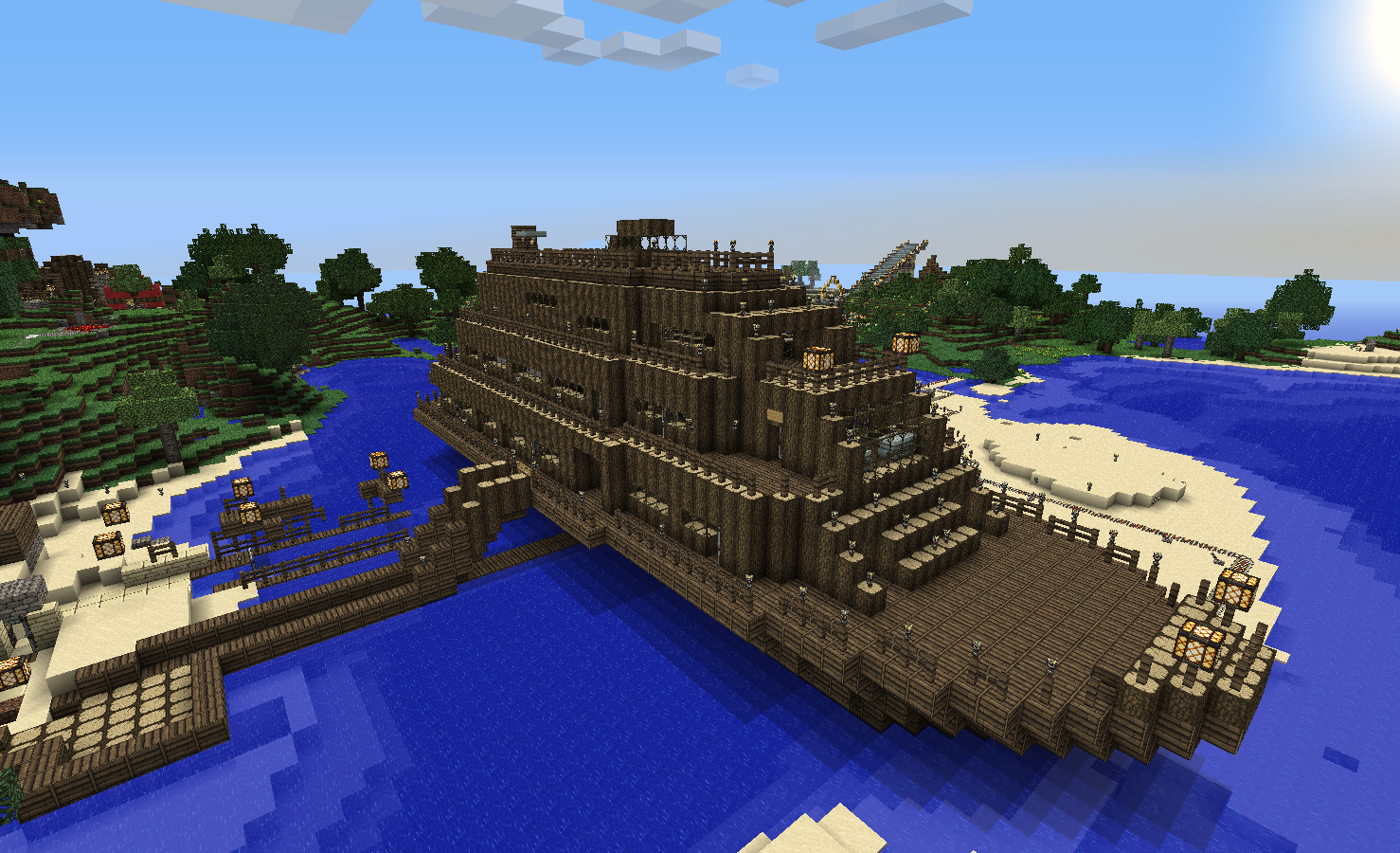 The Art of Architecture: The Minecraft Cruise Liner