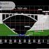 مخطط جسر على شكل قوس بكافة التفاصيل اوتوكاد dwg