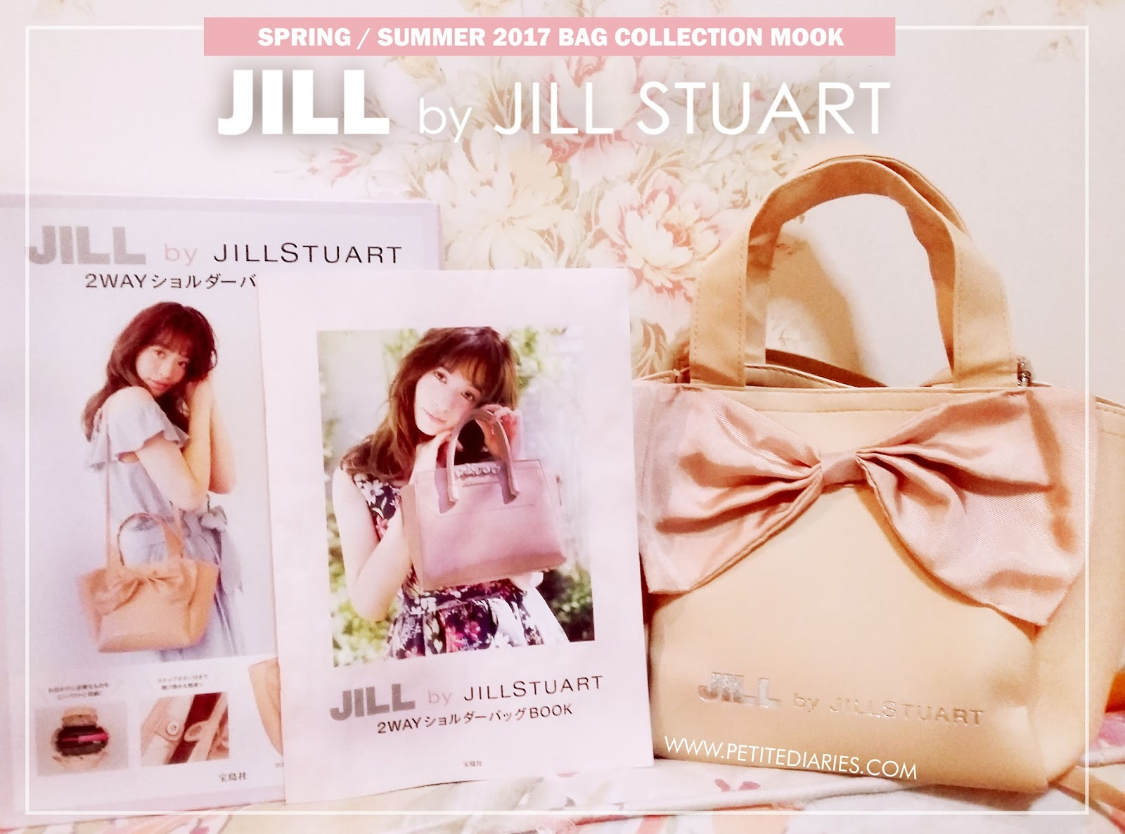 JILL BY JILLSTUART 2017 SPRING SUMMER MOOK 本 2wayショルダーバッグ PREVIEW