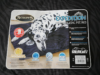 expedition dog bed label