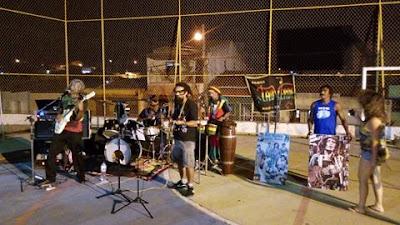Show de Reggae com a banda Talo Verde, em Mairi