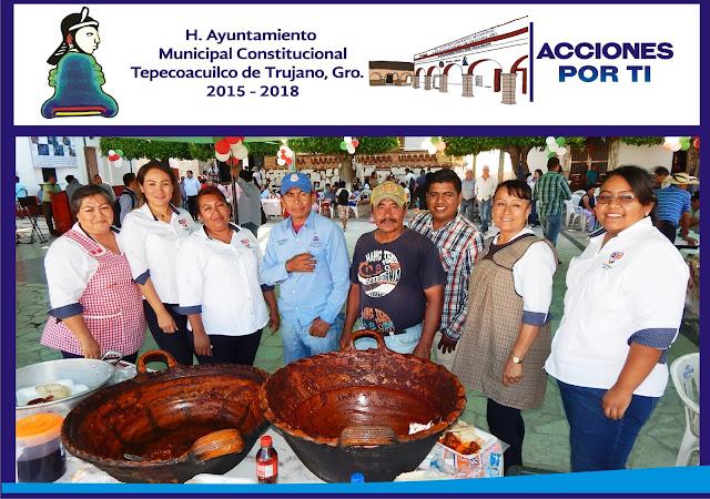 Participa Tepecoacuilco con éxito en Muestra Gastronómica en Ixcateopan