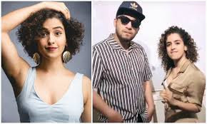Sanya Malhotra and Naezy