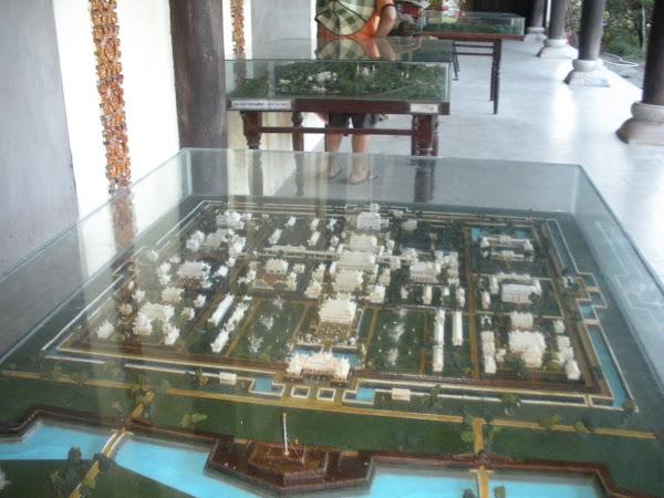 Mapa turistico de la Ciudad Imperial de Hue