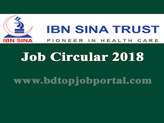 Ibn Sina Trust Job Circular 2018