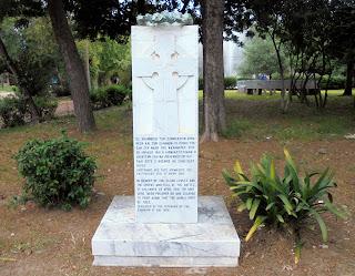 το μνημείο της μάχης της Καλαμάτας στην Καλαμάτα
