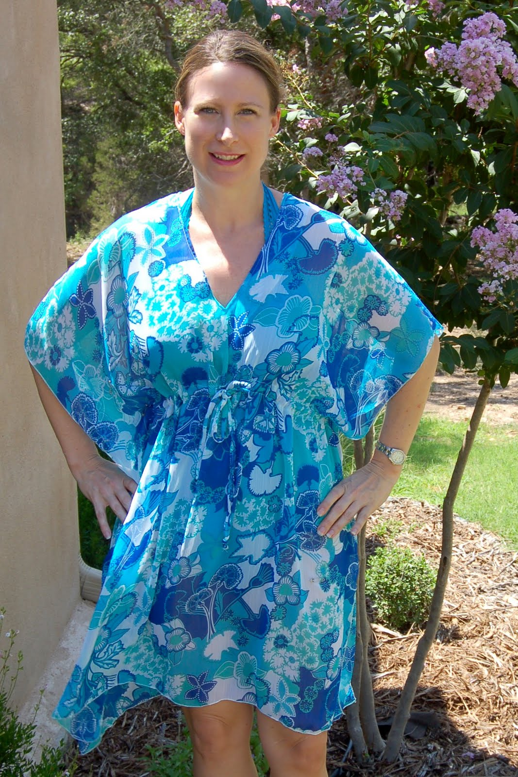 9bfe3b03d3471 Kaftan-Style Beach Cover-Up - Scattered Thoughts of a Crafty Mom by ...