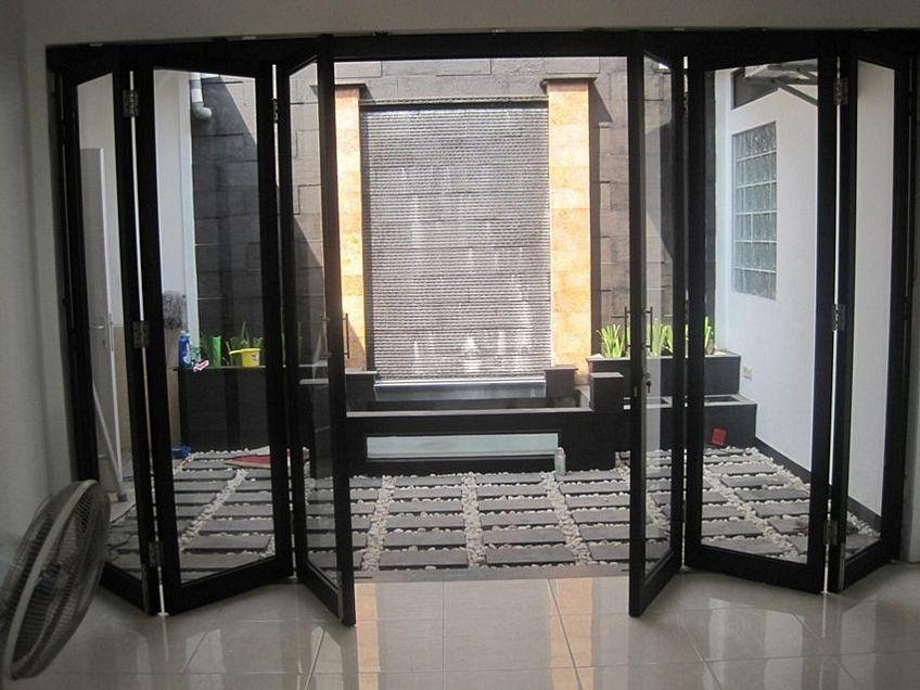 pintu besi lipat 1