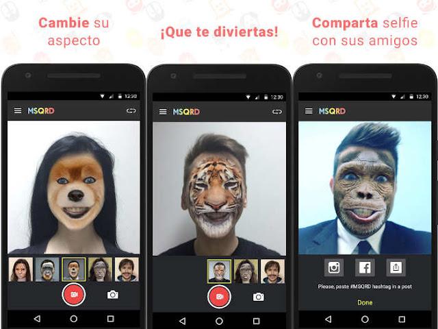 Las 5 apps más populares de la Google Play en 2016: MSQRD