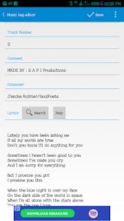 Cara Membuat dan Menambahkan serta Menampilkan Lirik Lagu di Samsung Musik dengan mudah