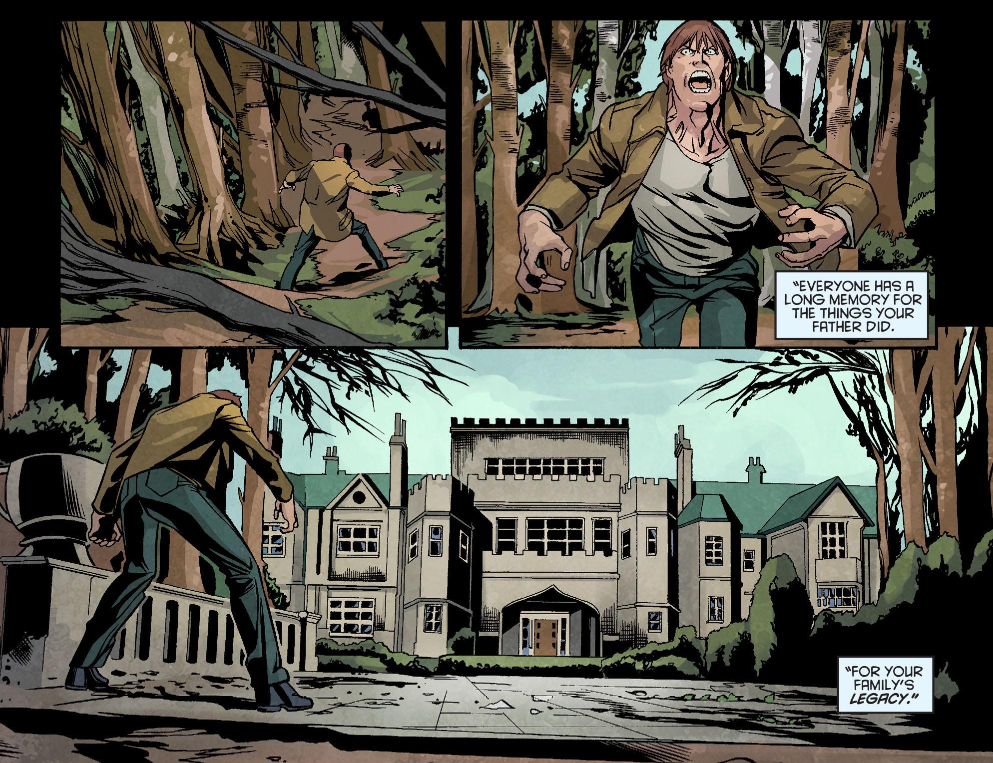 Read online Arrow: Season 2.5 [I] comic -  Issue #10 - 8