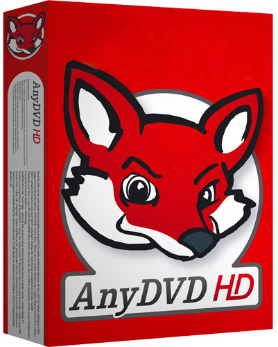 RedFox AnyDVD HD 8.1.7.1 poster box cover