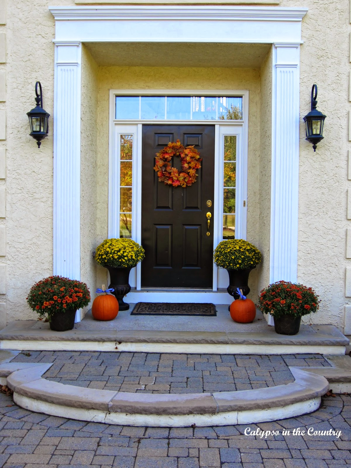 Fall Front Entrance