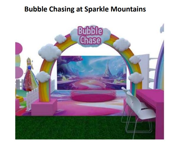 Bubble Chasing at Sparkle Mountains