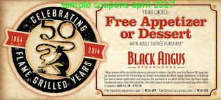 Black Angus Steakhouse coupons april