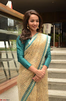 Tejaswi Madivada looks super cute in Saree at V care fund raising event COLORS ~  Exclusive 106.JPG