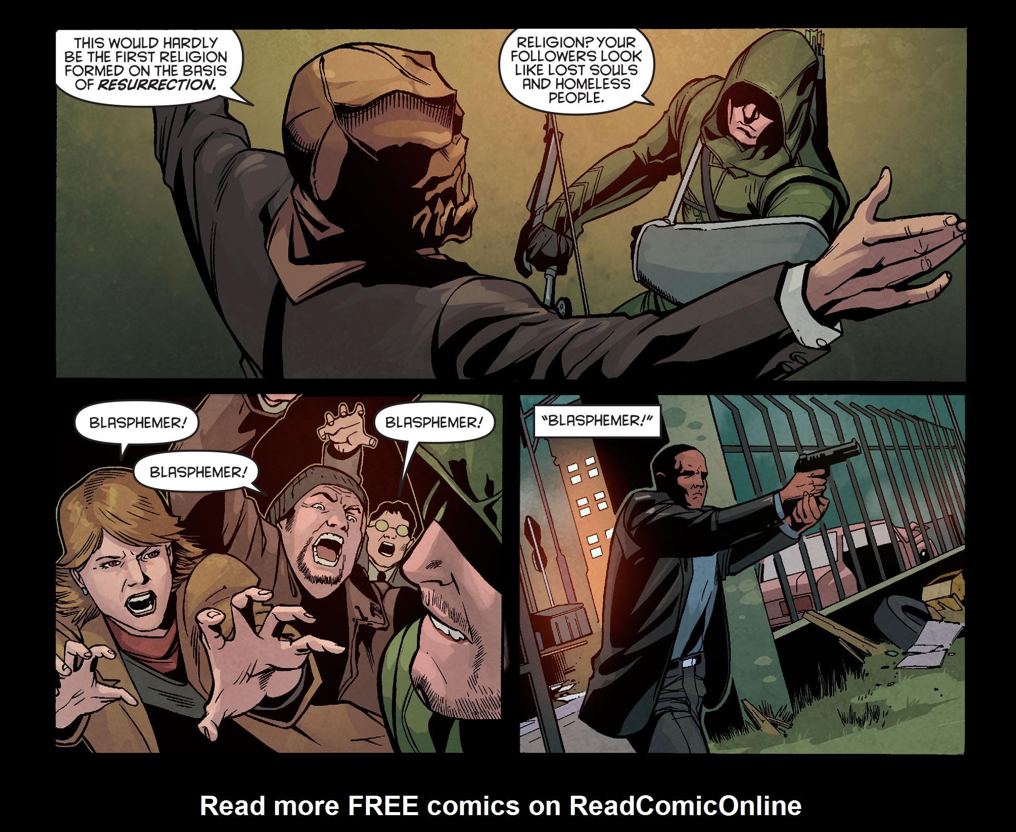 Read online Arrow: Season 2.5 [I] comic -  Issue #5 - 17