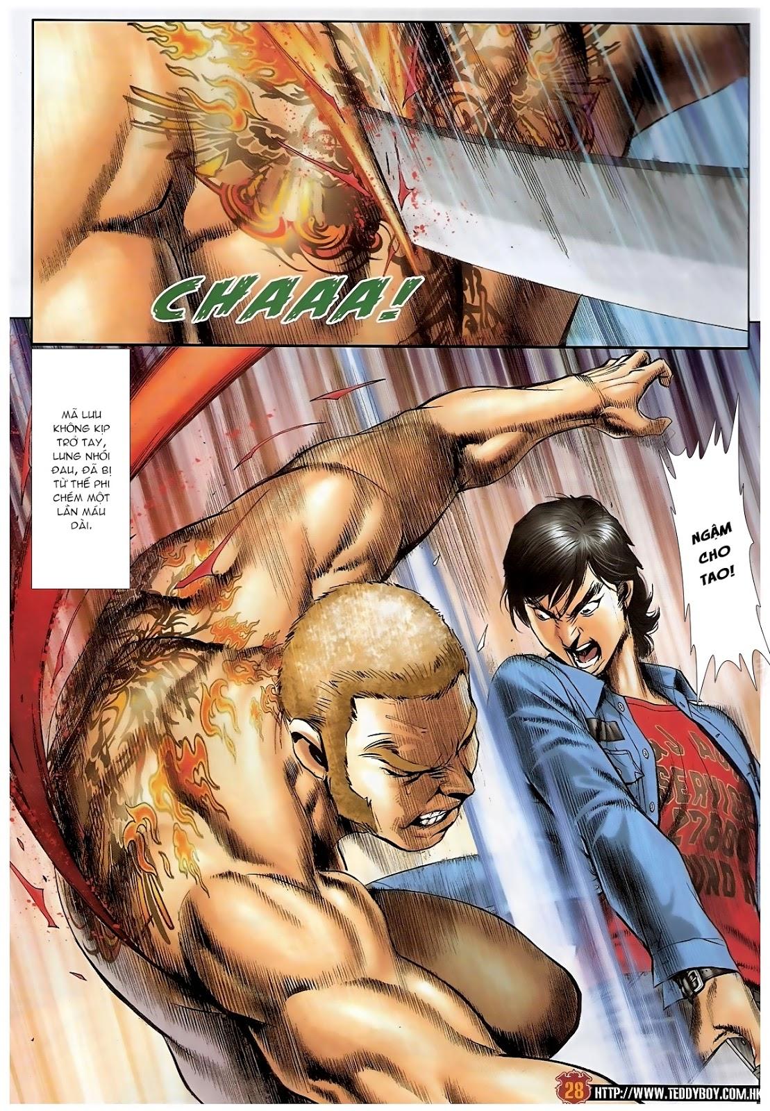 Người Trong Giang Hồ - Chapter 1570: Tắm máu sauna - Pic 24