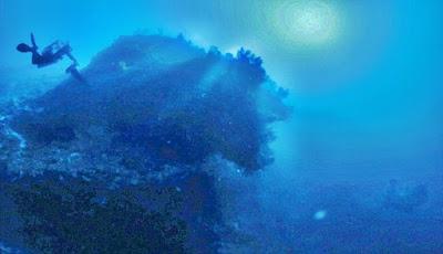 Ditemukan Bangkai UFO Kuno Di Dasar Laut Segitiga Bermuda